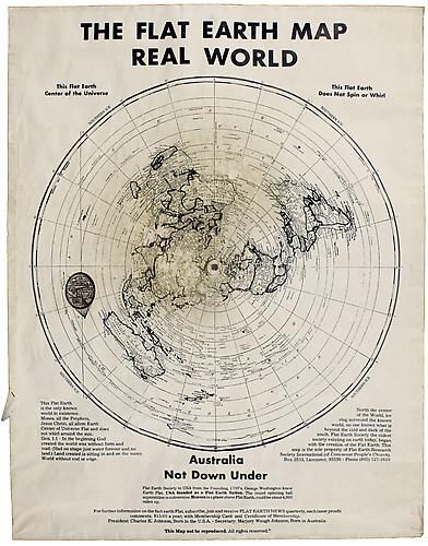The Flat Earth Map, Real World