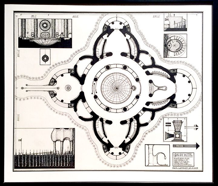GAUDI HOTEL: FIRST LEVEL PLAN (2003)