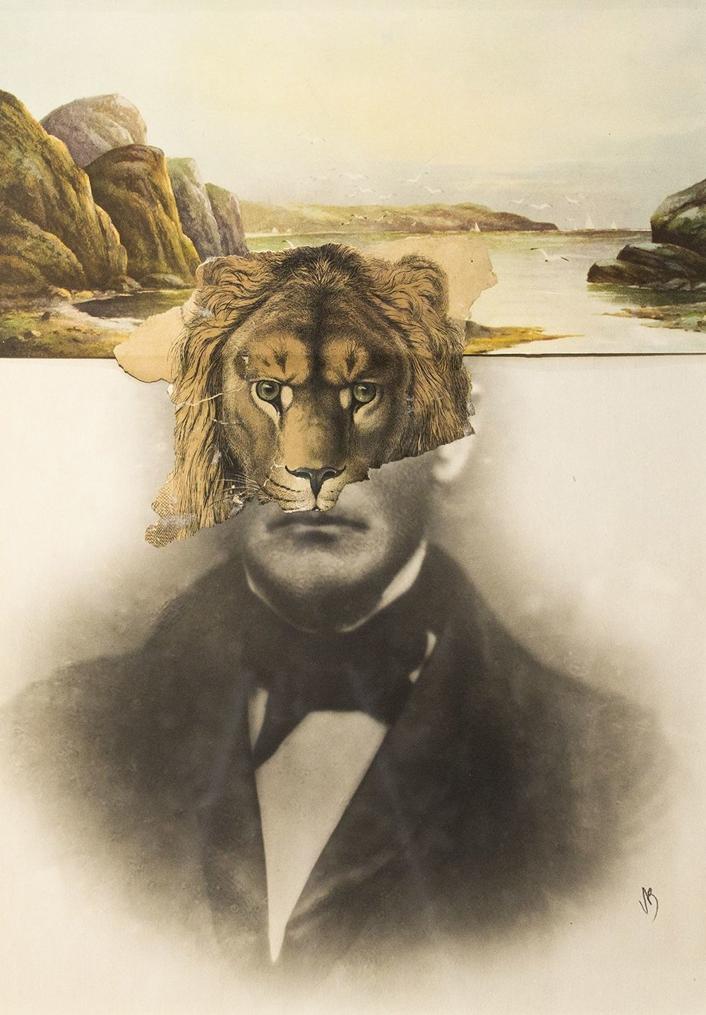 Self Portrait as a Lion (2006)