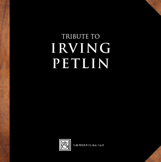 Tribute to Irving Petlin - National Academy of Art | November 2017 – January 2018 | D.K. Walla