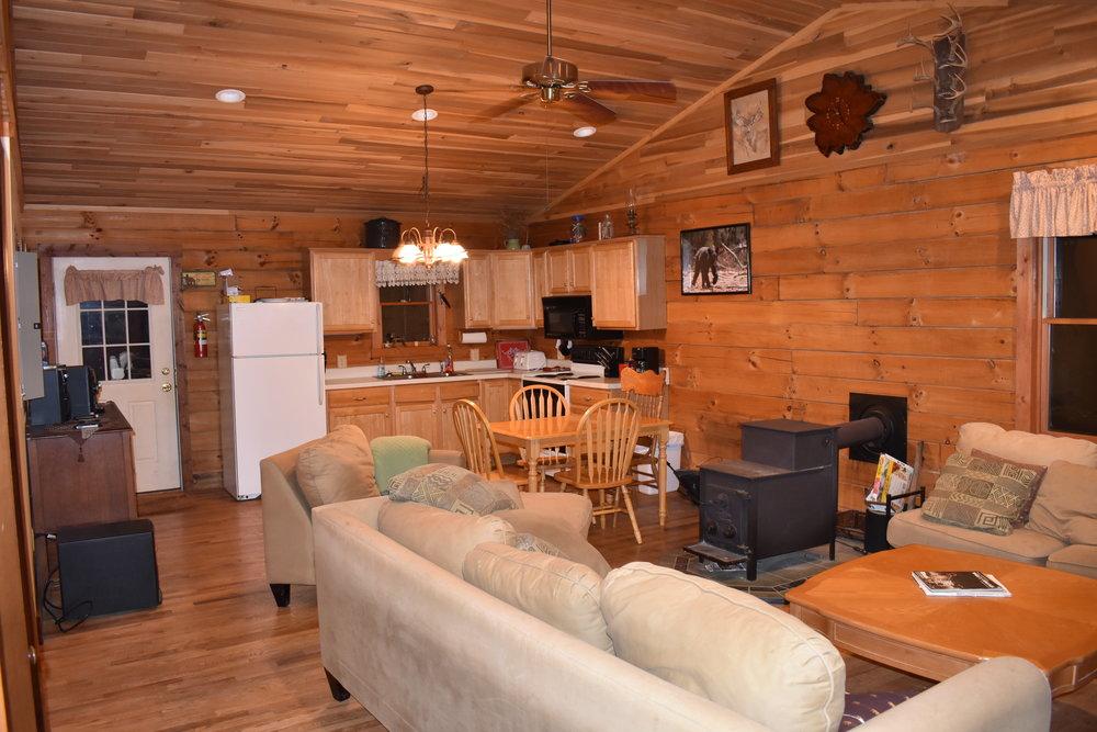main cabin interior view