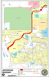 Maps — Jefferson Parkway Public Highway Authority (JPPHA)
