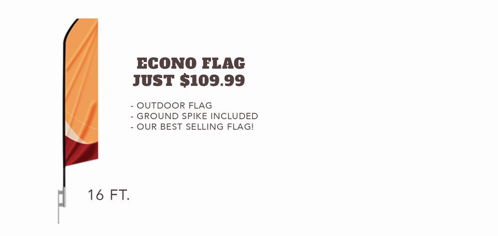 Econo Flag - $109.99