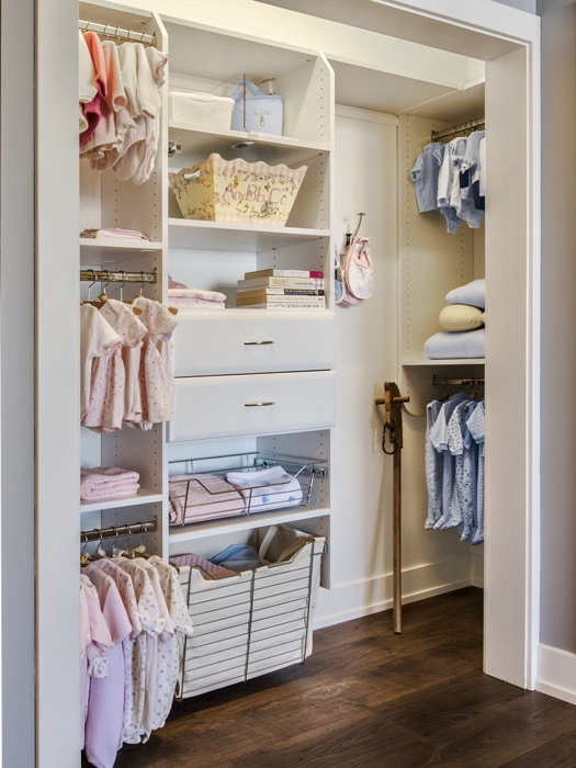 SOLUTIONS FOR THE KID'S, OR THE NEW BABY'S ROOM