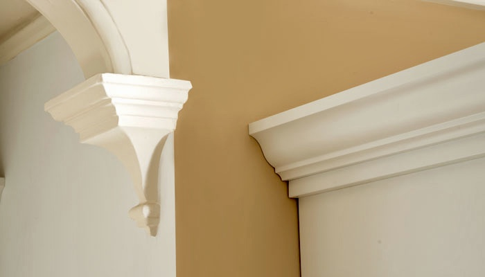 ADD ARCHITECTURAL TRIM IN A MATCHING COLOR TO GIVE THE UNIT A FINISHED LOOK