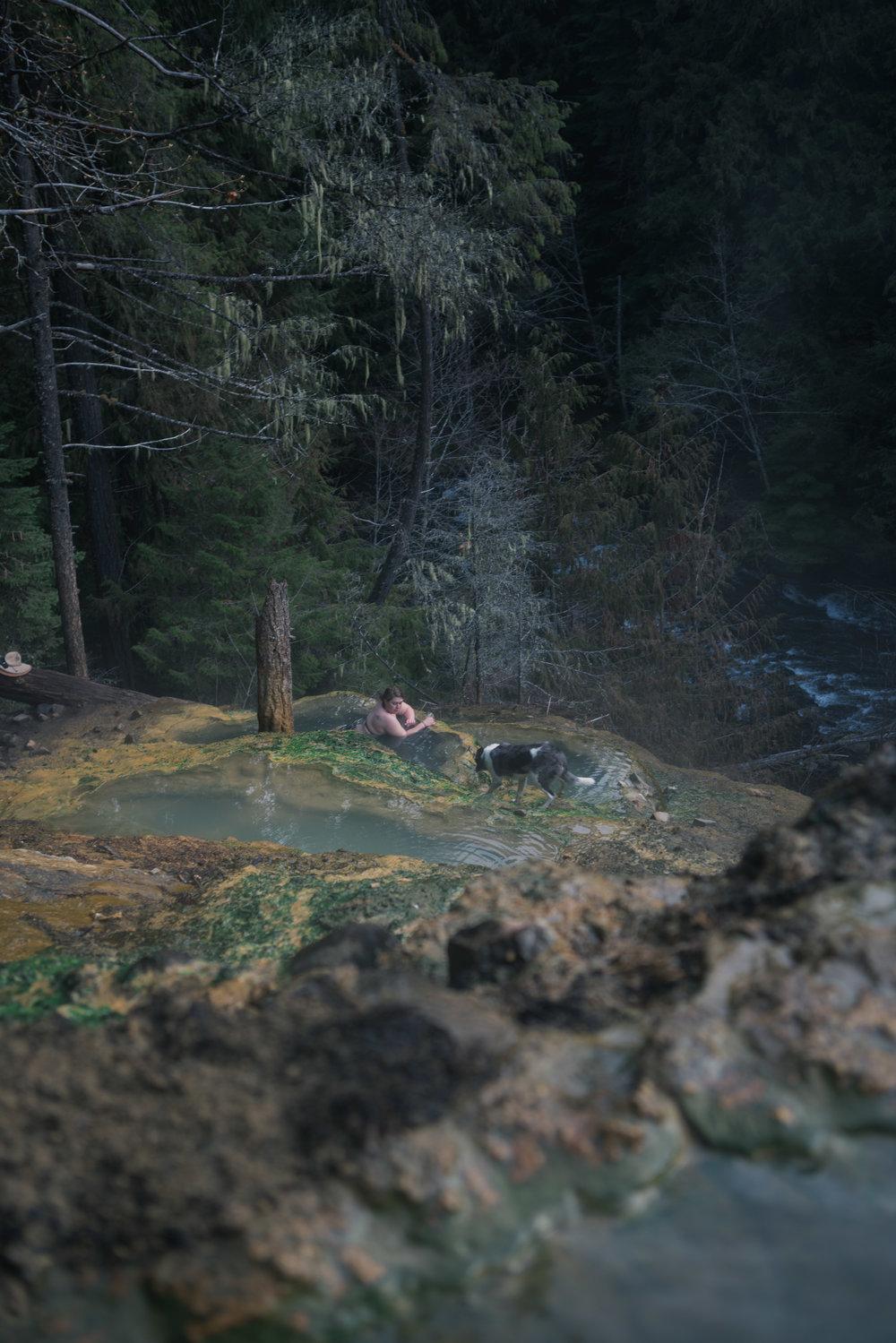 Umpqua Hot Springs Oregon Road Trip Colorado to Alaska