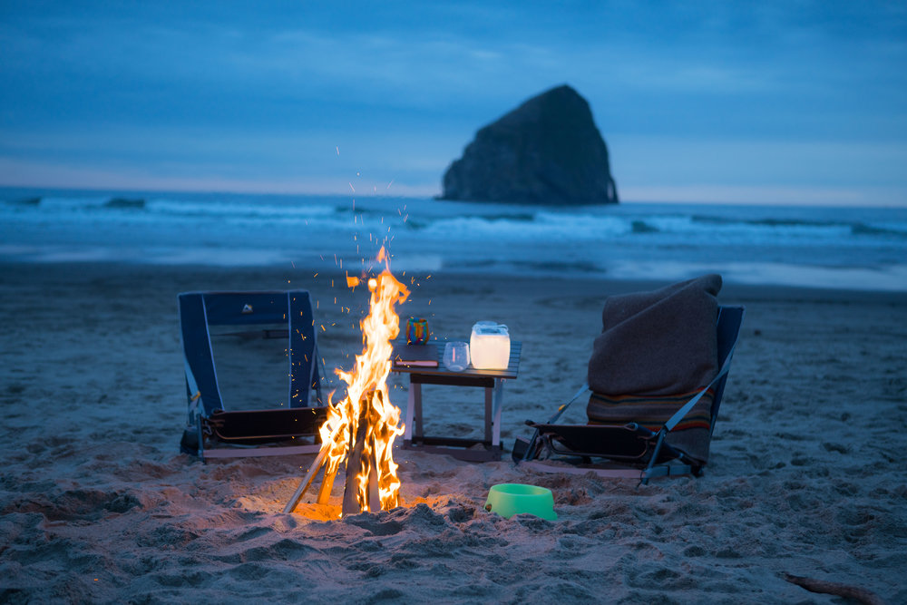 Cape Kiwanda Camping Beach Overnight Surfing Oregon Road Trip Colorado to Alaska