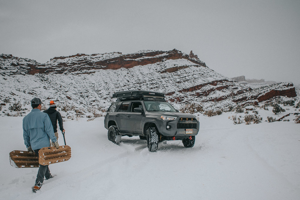 Winter Camping in Moab Free Dispersed Overlanding Off Roading