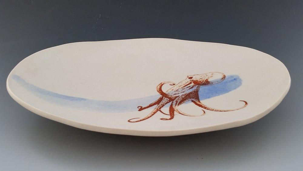 "Octopus, 15"" x 6"" x 3"""