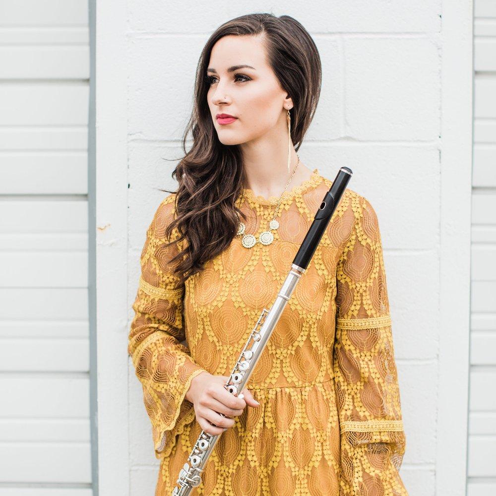 Elizabeth June: Lead Singer, Flautist