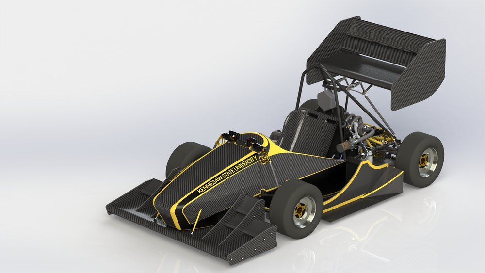Dassault Systèmes is the main provider o thef 3D CAD software Solidworks for FSAE. We design the entire car using this software each year! We are thankful for their long contribution to KSU Motorsports and FSAE.    Thank you, 3DS!