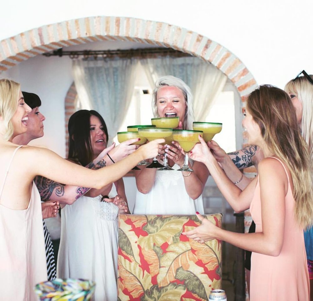 Nothing better than having friends by your side to celebrate the journey into a new chapter of life. #nunezweddings #prewedding #bridesmaids  #weddinginsperation #destinationweddings #margaritatime #weddingtime #family #weddingplanning #pdx #losangeles #vancouverwashington  (at Sayulita, Nayarit, Mexico)