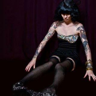 Wishing everyone a lovely day! #tbt #nunezphotography #tinseltokyomagazine #tattoos #livingdoll #fashion #glitterdeath #lacysoto