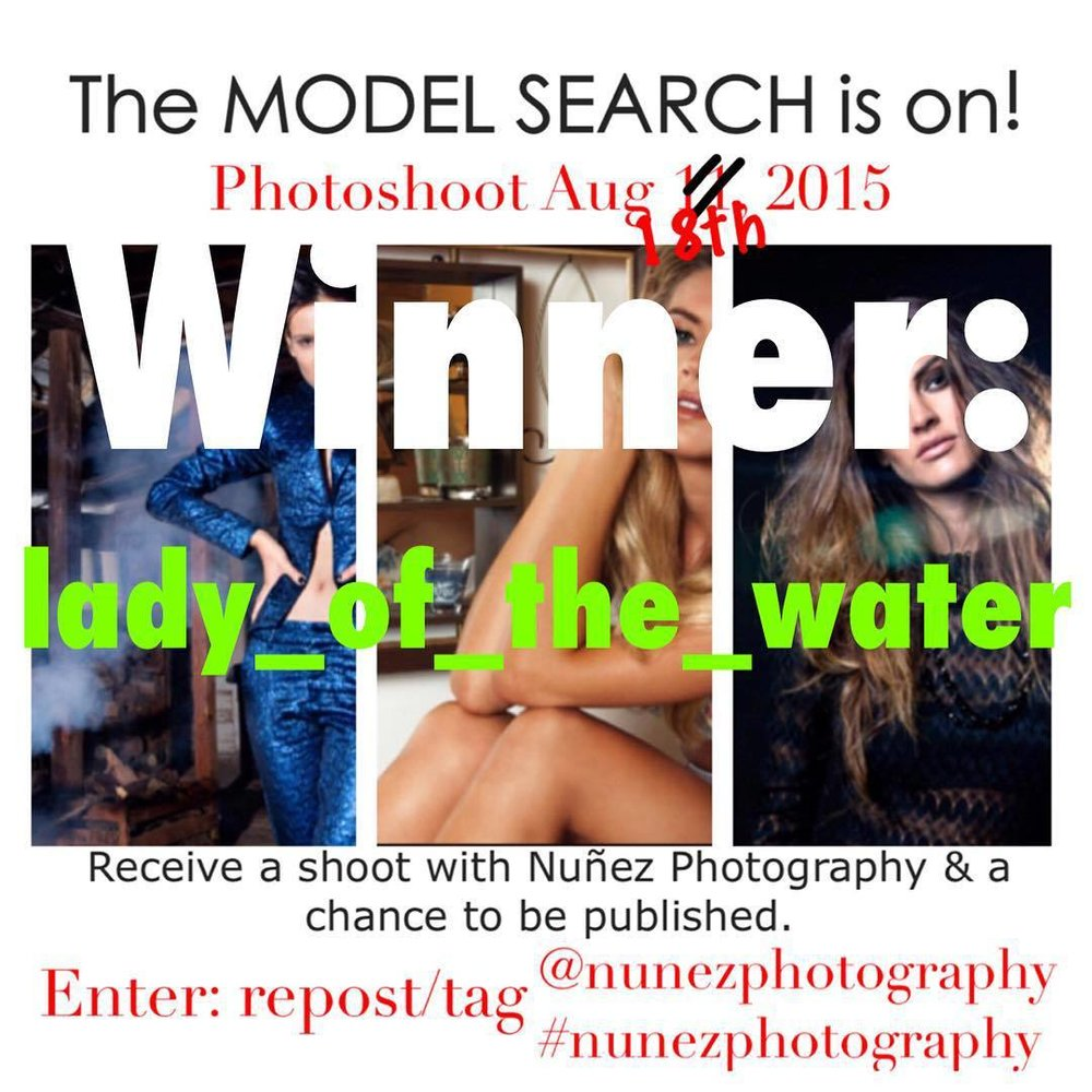 The winner of the search is: @lady_of_the_water ! Thanks for everyone who participated and stay tune for winter specials #nunezphotography