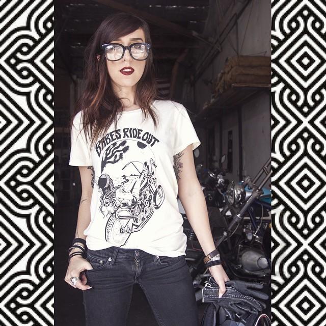 #InstaSquarer #babesrideout #babes #motorcycle #nunezphotography #follow #LA