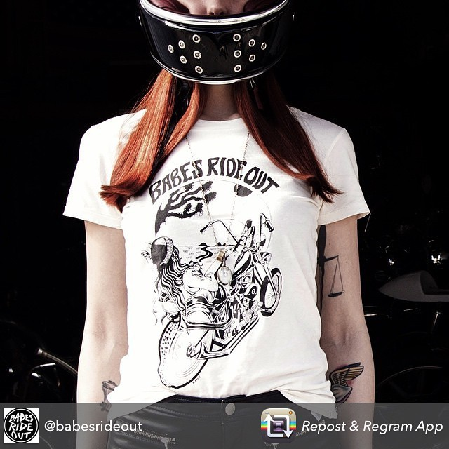 Check out these shirts for @babesrideout , shot by myself. Go buy! #nunezphotography #babesrideout #motorcycle #babes