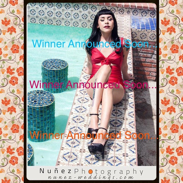 WINNER OF CONTEST #1 WILL BE ANNOUNCED SOON…  #nunezweddings #nunezphotography #boudoir #vintage #retro