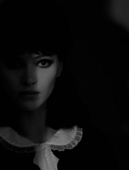 theswinginsixties :     Anna Karina in 'Alphaville', 1965.       Lil late night inspiration….