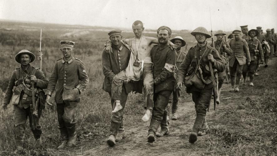 demons :     POWs carrying the wounded