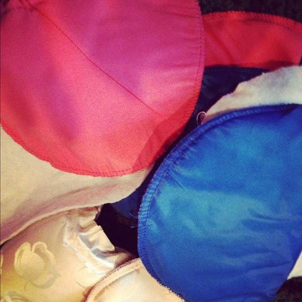 I live in a world of shoulder pads!