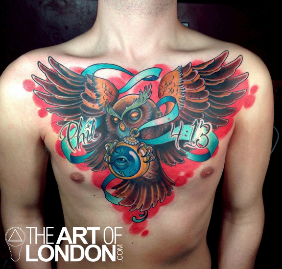 owl chest piece color illustrative bible verse best_tattoo.jpg