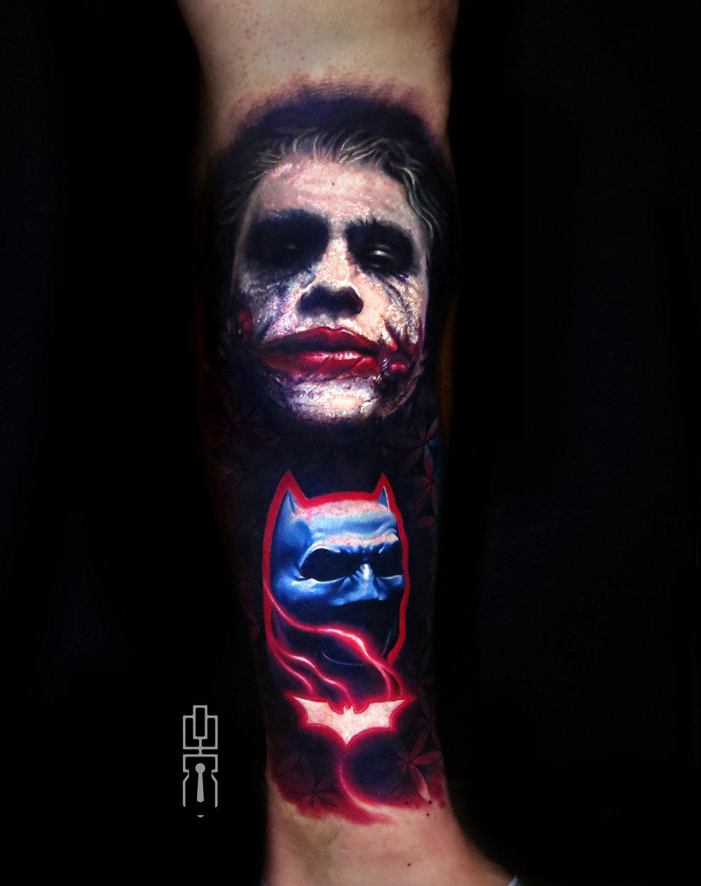 Joker Heath ledger Dark Knight batman cowl tattoo.jpg