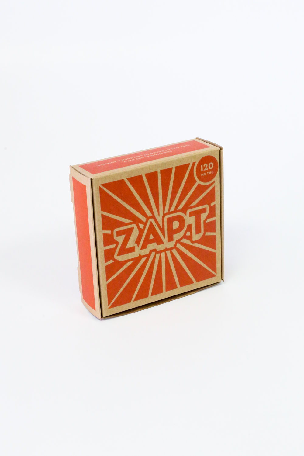 Zapt Edibles Cannabis Packaging