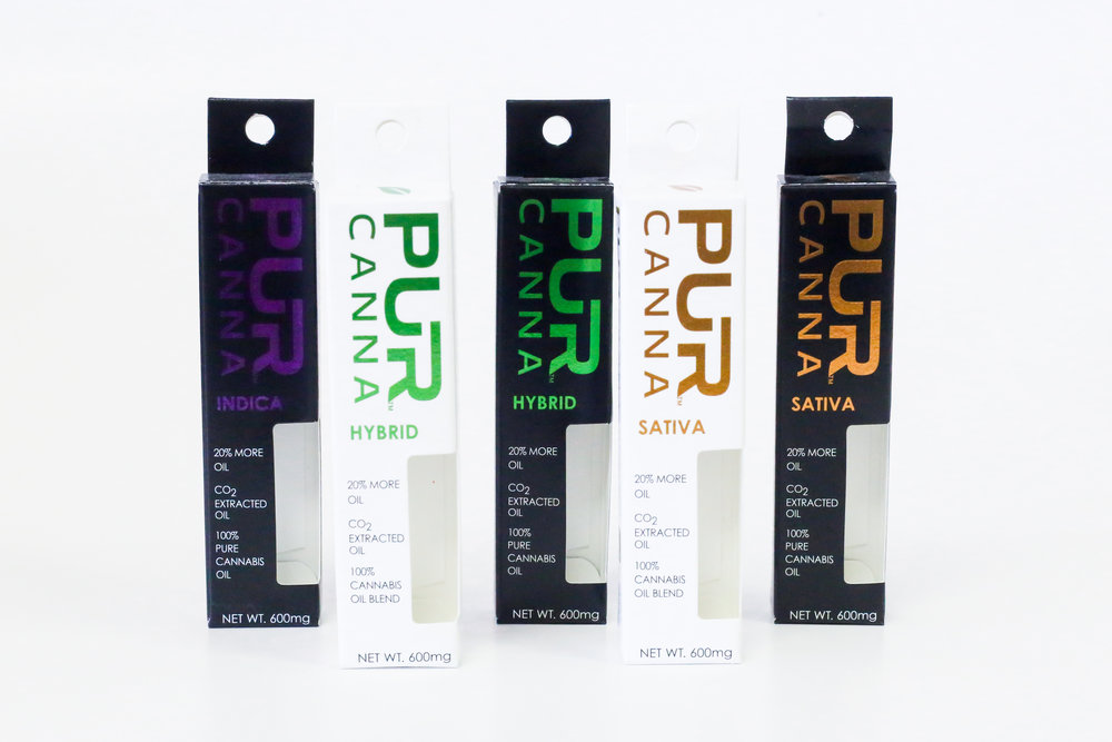 Pur Canna Vaporizer Cannabis Packaging