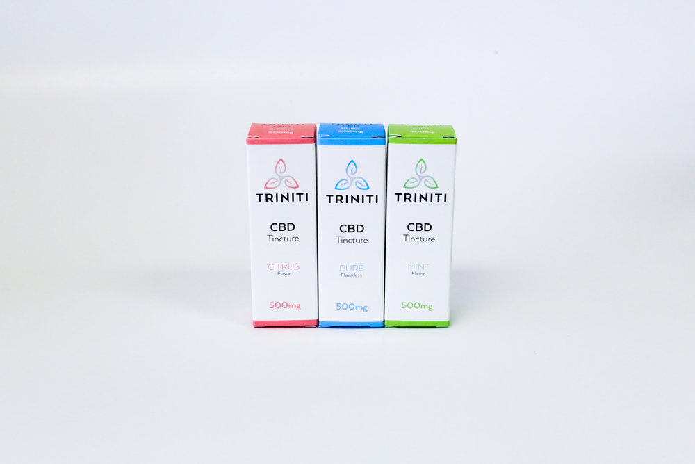 Triniti CBD Tincture Other Cannabis Packaging