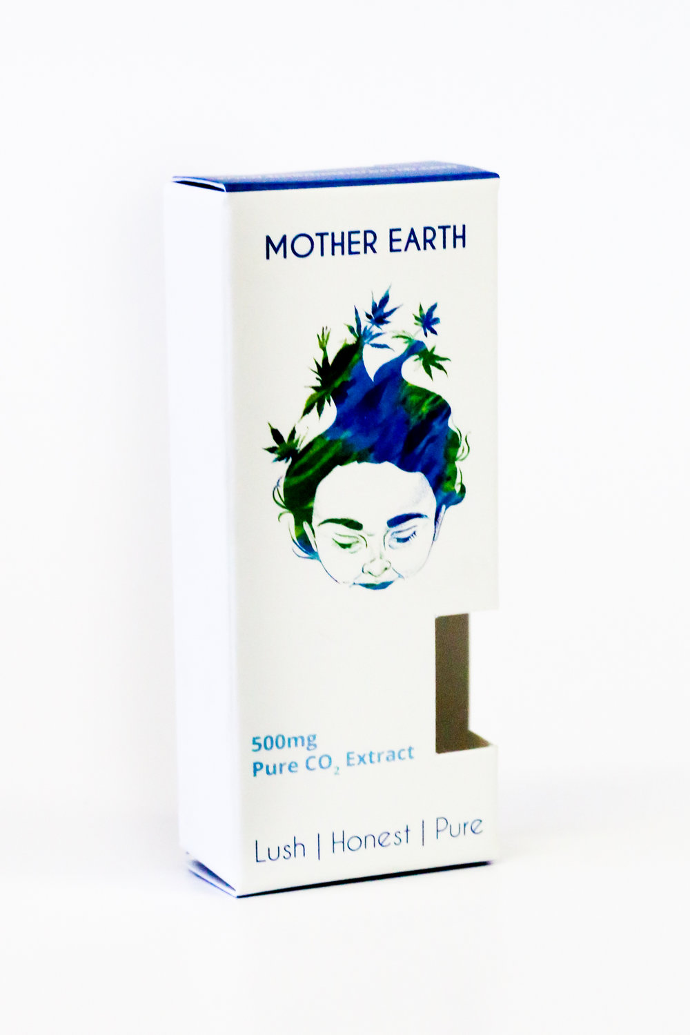 Mother Earth Pure CO2 Extract Vaporizer Cannabis Packaging