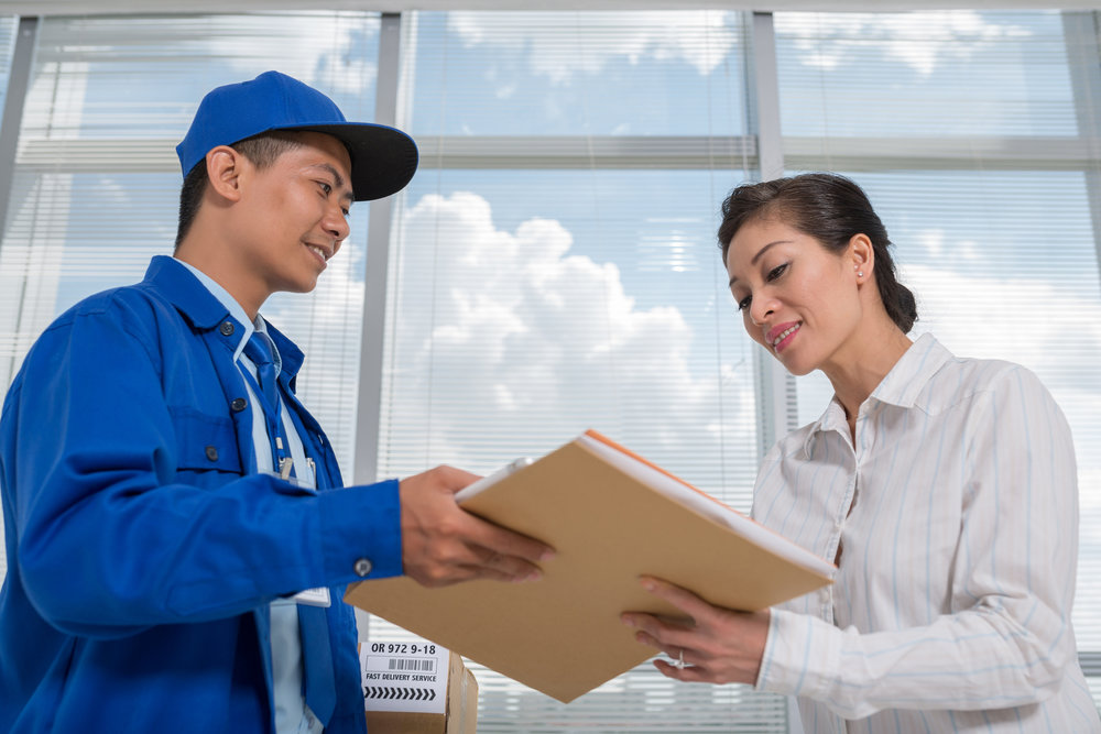 DOCUMENT DELIVERY SERVICES - Did you forget a box of files you were finalizing late last night? Give us a call or send us an email, and we'll return to pick-up more, even on the same day. Since all of your records are stored using convenient bar-code technology,your items are quick and efficient to store and retrieve. Also, our central location means your items could be as little as an hour away.