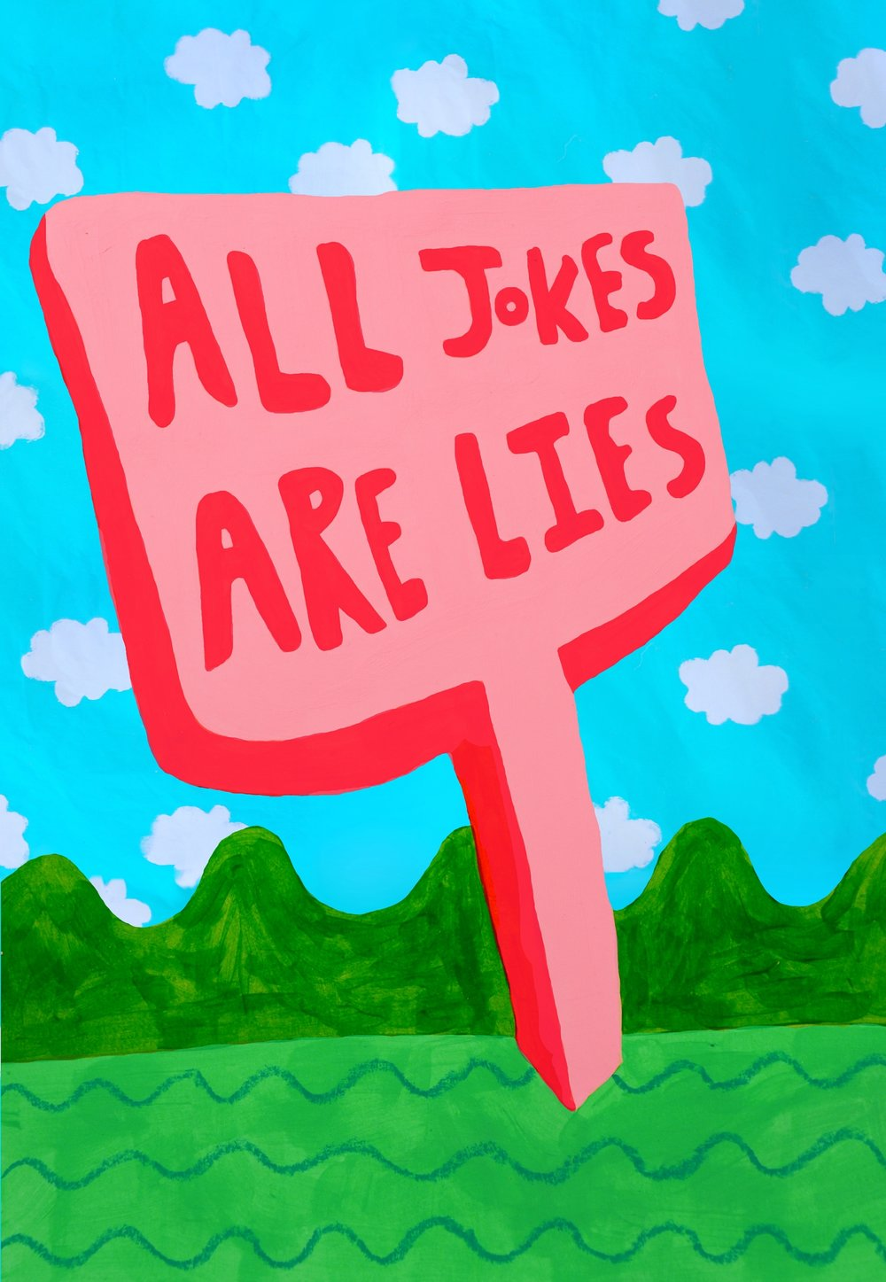 All Jokes Are Lies