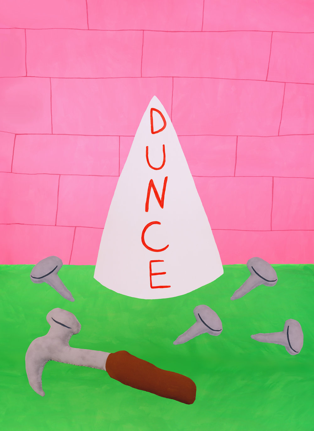Dunce Cap at the Wall