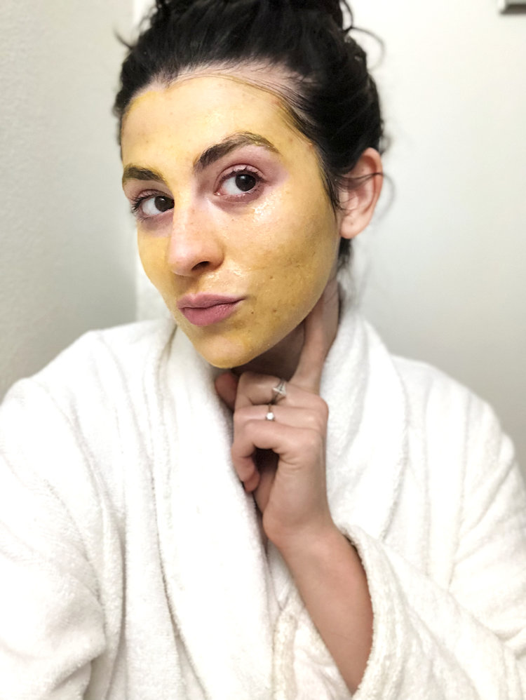 This Turmeric Face Mask Will Apparently Lighten Your Mustache And
