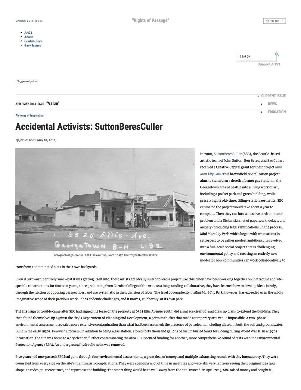 Accidental Activists_ SuttonBeresCuller _ Art21 Magazine pg1.jpg