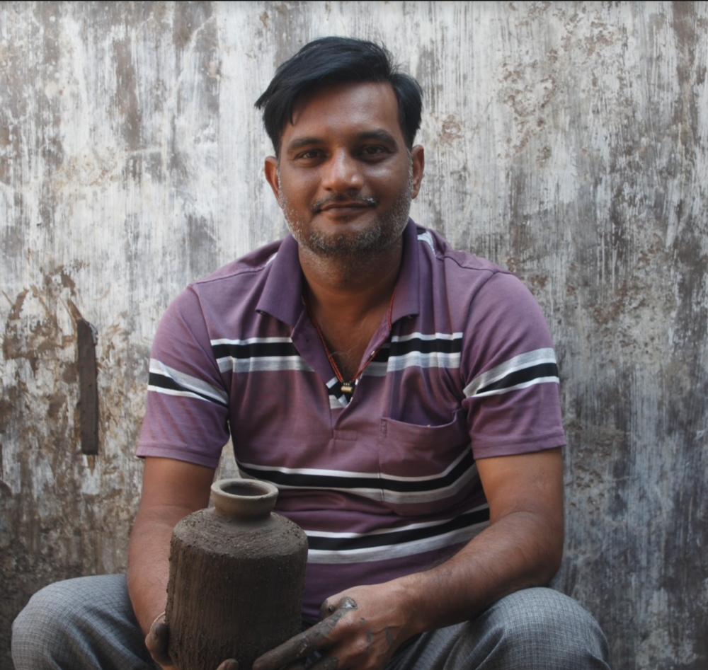 Meet Vijay - One of our 'waterpreneurs' from Gujarat, India.