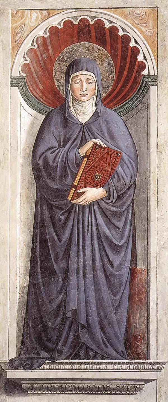 Saint Monica by  Benozzo Gozzoli , 1464–65