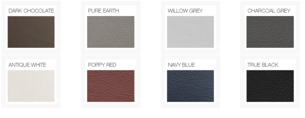 GENUINE LEATHER COVER COLORS