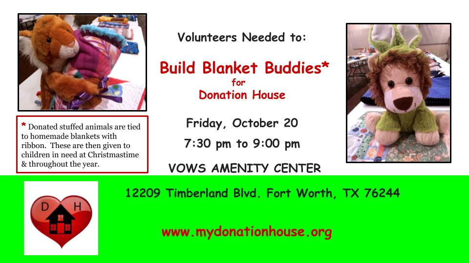 Volunteers to Build Blanket Buddies.jpg