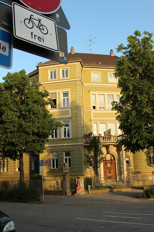 Typical Innsbruck housing