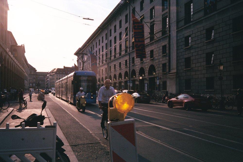 Innsbruck multimodal downtown