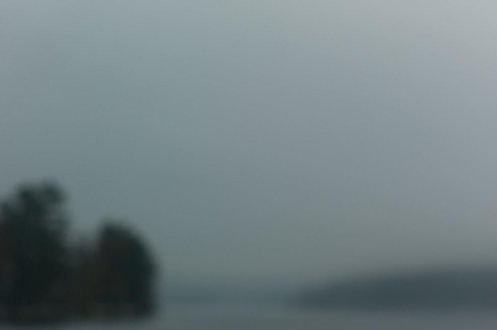 Lake in Autumn, Massachusetts