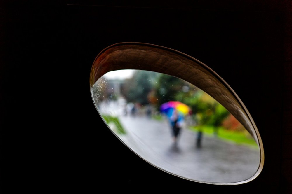 Seattle through Steven Holl's Window