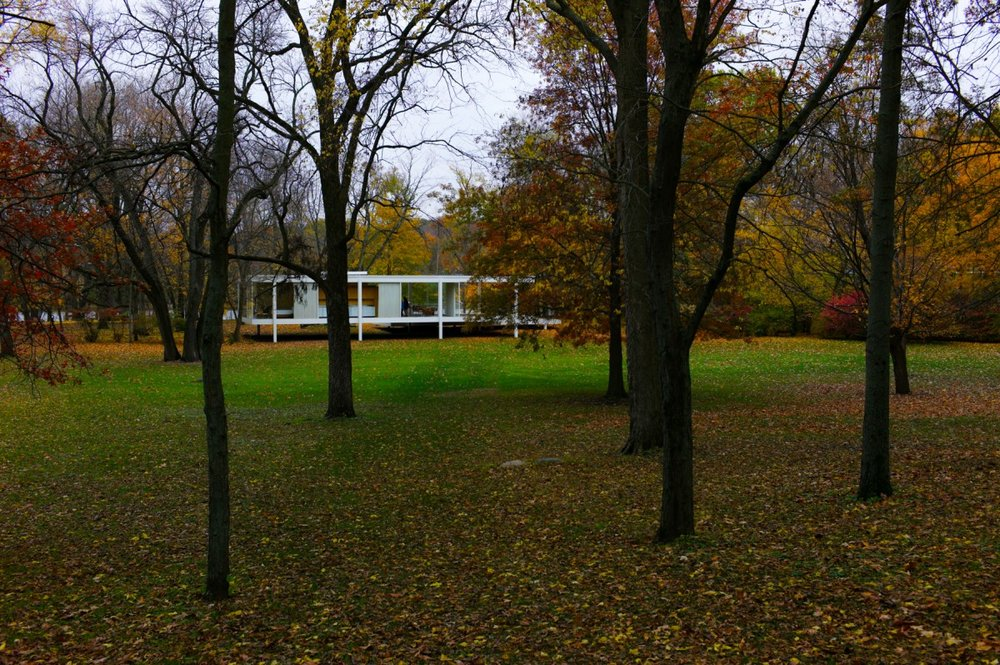 At Mies' iconic Farnsworth House outside Chicago, the details in which the Almighty resides are everywhere. They've been captured in photographs countless times. What else is there to find?