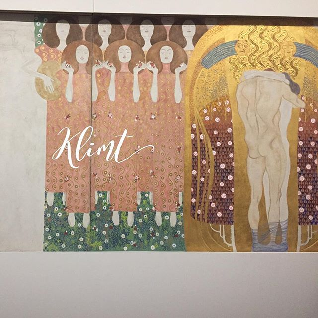 Klimt is one of my favorites. #inspiration #modernart #artist #loveart