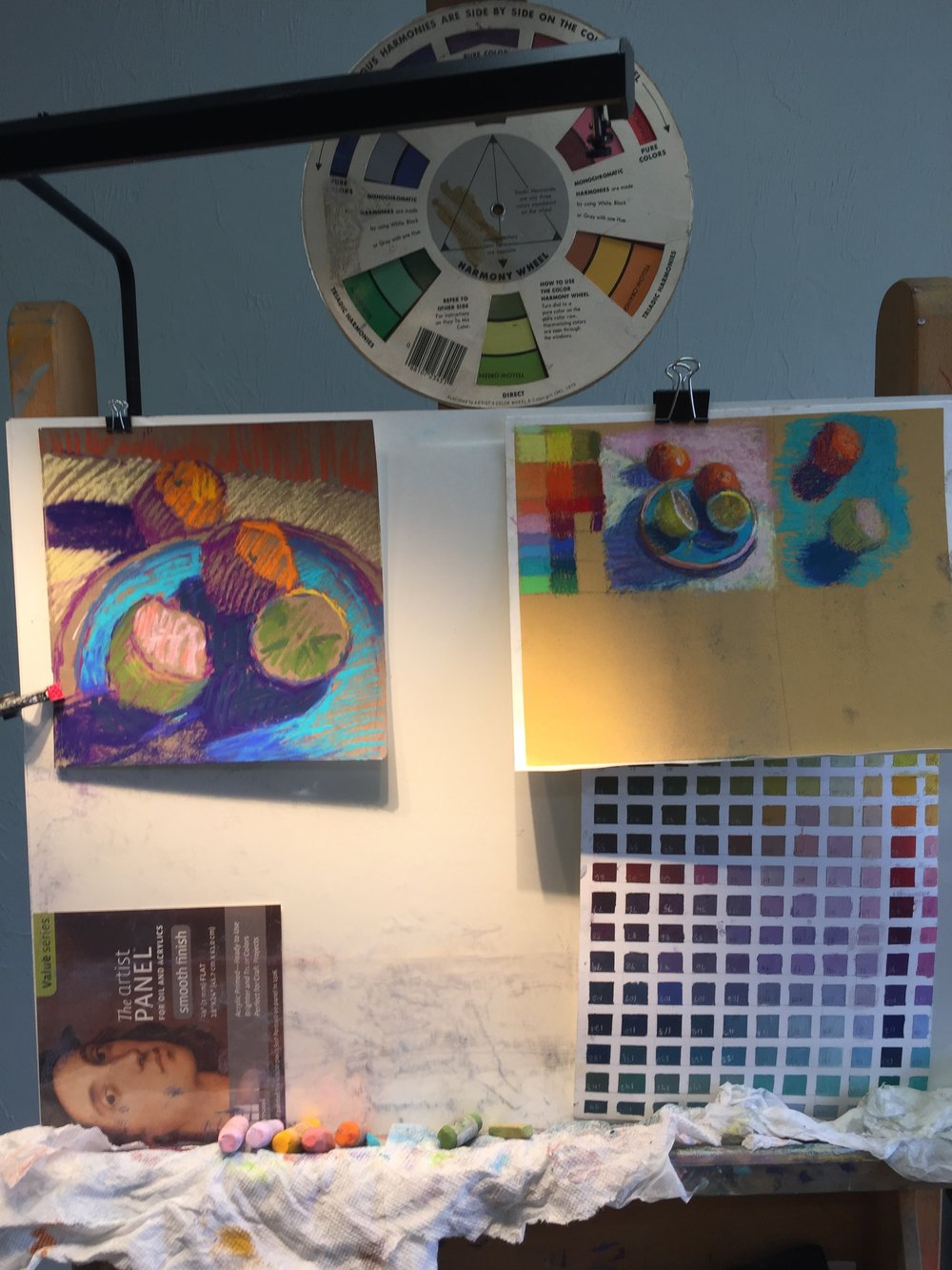 Focus on color in the studio with specific exercises based on your skill level.
