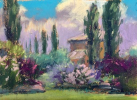 Create a stronger color harmony in your work by making fast color studies.