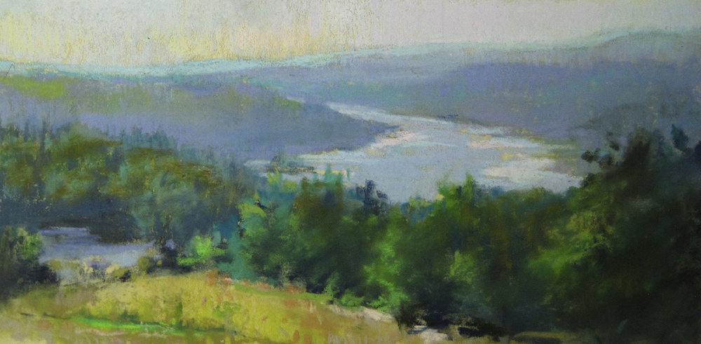 Learning to see the value changes in the landscape came from my classes with Garin Baker.