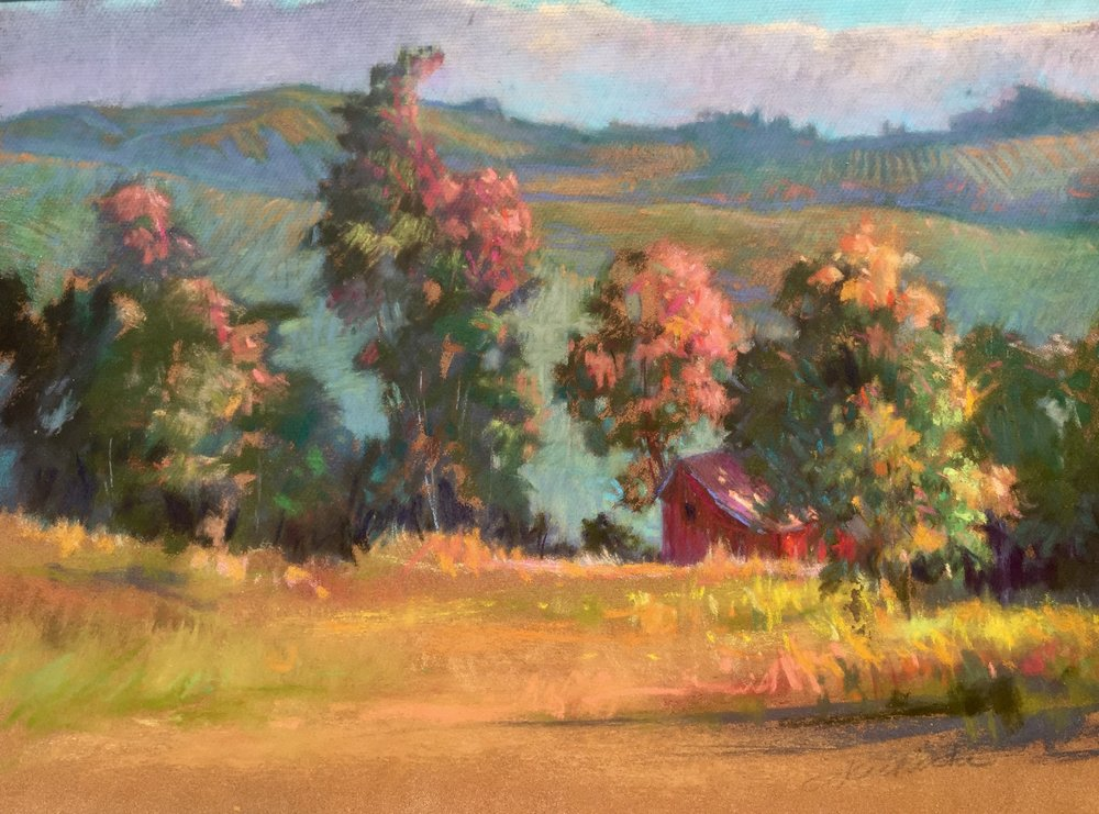 It was from John Phillip Osborne that I learned how to use the shadows to pull a painting together.