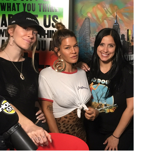 HEYHEY! ON THIS EPISODE OF IE, - We welcome the incredible Jenné Lombardo! Jenné tells us her come up story- from humble beginnings at Talk Magazine, to founding MADE Fashion Week and The Terminal Presents. Jenné also shares her views on love (heartbreak is ok!), getting a healthy bod (hers is bangin, btw), and motherhood (it makes you a better version of yourself!) Plus, we break down the complexities of cultural appropriation, Leah debates the fuckability of horror movie icons, Producer Tiff and Reina share their wild night out, Laura calls out the tasteless disaster-site-selfie trend, and Jenné answers your listener letters! We had so much fun with this one- enjoy!